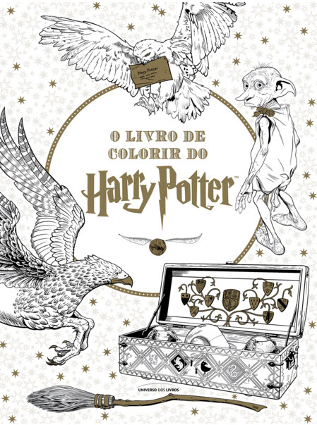 Onde comprar o Livro de Colorir do Harry Potter