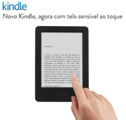 Kindle básico por apenas R$199!