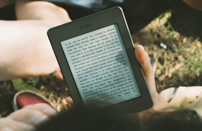 Promoção Kindle para o dia das mães