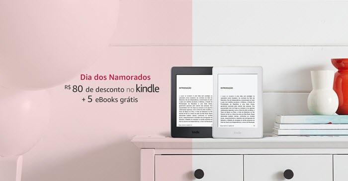 Promoção Kindle para o dia dos namorados 2018