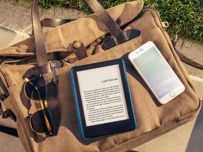Novo Kindle 10a geração com iluminação embutida